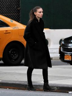 Rooney Mara Out And About In New York City