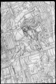 ArtStation - Drawing Note - 04, Jong Hwan