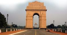 """India Gate, New Delhi At the center of New Delhi stands the 42 m high India Gate, an """"Arc-de-Triomphe"""" like archway in the middle of a crossroad. Almost similar to its French counterpart, it commemorates the 70,000 Indian soldiers who lost their lives fighting for the British Army during the World War I. The memorial bears the names of more than 13,516 British and Indian soldiers killed in the Northwestern Frontier in the Afghan war of 1919."""