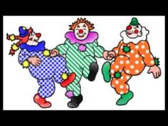 Clowntje heeft een rode neus - YouTube Clown Images, Clown Clothes, Clown Nose, Circus Clown, Clowning Around, Exercise For Kids, Games For Kids, Smiley, Fun Workouts