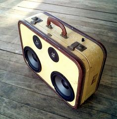 """Talking about a boombox brings back memories. In the 1970s the boombox became popular as a ghetto blaster. According to WikipediA: """"Boombox is a common word for a portable cassette or CD player wit..."""