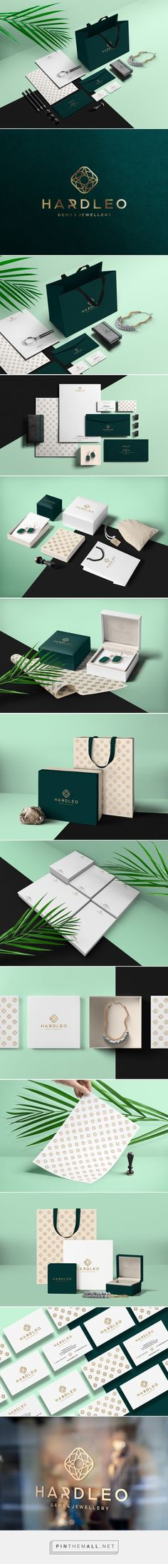 Hardleo Gems & Jewellery Branding by Dawid Cmok | Fivestar Branding Agency – Design and Branding Agency & Curated Inspiration Gallery