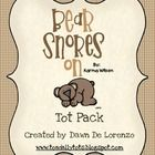 Bear Snores On Tot Pack!  FREE Retelling Song in PREVIEW!