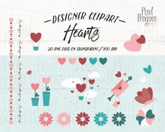 Hot Air Balloon Clipart, Wedding Binder, Wedding Stickers, Art File, Love Notes, All You Need Is Love, Bridal Shower Invitations, Pattern Paper, Planner Stickers