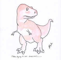 If You're Feeling Down, Just Be Grateful You're Not A T-Rex (17 Hilarious Illustrations)