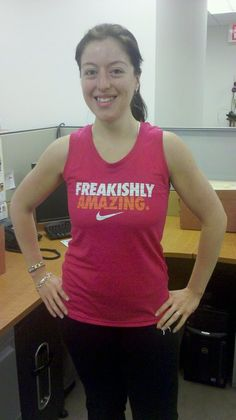freakishly amazing - Kassandra Raux - do or do not. there is no try via @Fit Approach