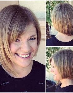 """It can not be repeated enough, bob is one of the most versatile looks ever. We wear with style the French """"bob"""", a classic that gives your appearance a little je-ne-sais-quoi. Here is """"bob"""" Despite its unpretentious… Continue Reading → Modern Bob Hairstyles, Bob Hairstyles With Bangs, Bob Hairstyles For Thick, Hairstyles Haircuts, Cute Bob Haircuts, Asymmetrical Bob Haircuts, Bob Haircut With Bangs, Asymmetric Bob, Protective Hairstyles"""