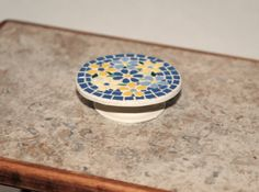 Hand Crafted Dollhouse Miniature Mosaic by Purpose4Everything, $19.75
