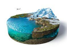 [Whaouu] – Superbe travail de 3D + Photoshop par Vladimir Andreev