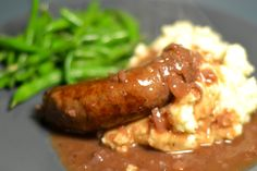 The World in My Kitchen: Pub Food: Bangers and Mash