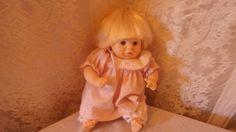 Designer Doll by Pauline Blonde Baby Girl 8 inch tall #Dolls