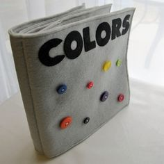 COLORS Fabric Quiet Book  PDF Pattern