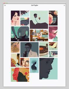 Jack Hughes Illustrated Portfolio Website Design You are in the right place about Web Design paginas Here we offer you the most beautiful pictures about the Web Design html yo Inspiration Art, Website Design Inspiration, Graphic Design Inspiration, Creative Inspiration, Online Portfolio Design, Artist Portfolio Website, Portfolio Layout, Portfolio Creative, Template Portfolio