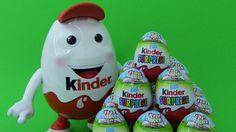 *20* Chocolate Kinder Surprise Eggs BestToySurprises