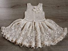Crochet dress. Pattern No 14 by Illiana on Etsy