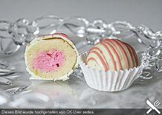 Limetten Hibiskus Cake Pops / Cake Balls