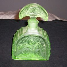 Large German Period Art Deco Perfume Bottle | eBay