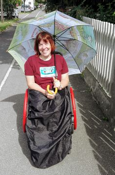 Festival One, Wheelchair Accessories, Spinal Cord Injury, Technology Design, Raincoat, Germany, Music Festivals, Legs, Enabling