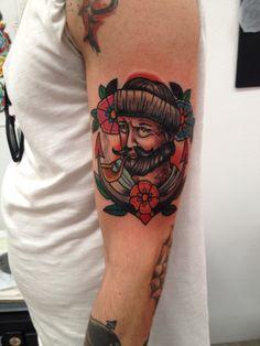 Old schooltattoo Follow me on instagram@jonatattoo Fb.page@jona tattoo art Email jonatattoo@email.it