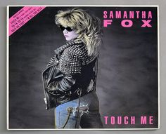 "SAMANTHA FOX TOUCH ME 12"" LP VINYL"