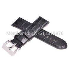 24mm Croco Grain Matte Black Watch Strap Black Stitches fit parnis watch 001. Yesterday's price: US $23.00 (18.84 EUR). Today's price: US $20.24 (16.54 EUR). Discount: 12%.