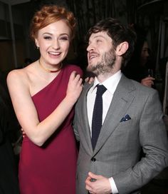 When Sansa and Ramsay were actually pals, and it was creepy and lovely at the same time.