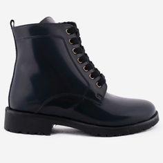 Ghete bleumarin din piele naturala Bridgette Dr. Martens, Combat Boots, Shoes, Fashion, Moda, Zapatos, Shoes Outlet, Fashion Styles, Shoe
