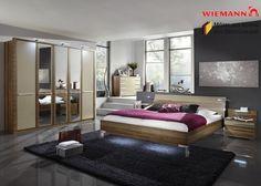 Schlafzimmer komplett Holz Walnuss Sahara 3773. Buy now at https://www.moebel-wohnbar.de/schlafzimmer-komplett-holz-walnuss-sahara-3773.html