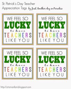 Larissa Another Day: teacher appreciation Daycare Gifts, Staff Gifts, School Gifts, Student Gifts, School Fun, School Teacher, Teacher Gifts, San Patrick, Teacher Appreciation Week