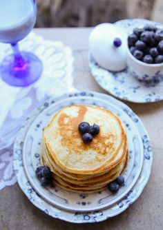Overnight Buttermilk Pancakes - prepare the batter tonight and whip up pancakes tomorrow!