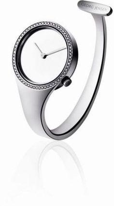 George Jensen - Vivianna Brilliant Diamond Watch - Created by the legendary Swedish designer Vivianna Torun Bülow-Hübe