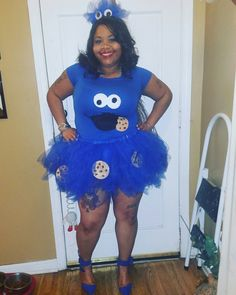 diy cookie monster costume fasching pinterest. Black Bedroom Furniture Sets. Home Design Ideas