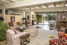 Kirk Douglas's Family Retreat in Palm Springs Is on the Market for $3. Photos | Architectural Digest