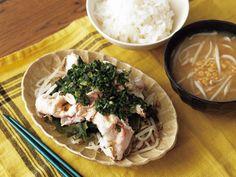 With, Pork, Meat, Lifestyle, Kale Stir Fry, Pork Chops
