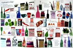 varka: Inspiration: Fiona Watt — 1000 things to make and do Fiona Watt, Kids Collage, Collages, Mixed Media, Illustration, How To Make, Inspiration, Biblical Inspiration, Collagen