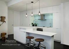 open plan kitchen and breakfast counter design Cecconi 16