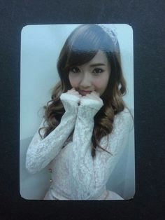 SNSD JESSICA MR TAXI Official Photo Card 3rd Album Girl's Generation Photocard