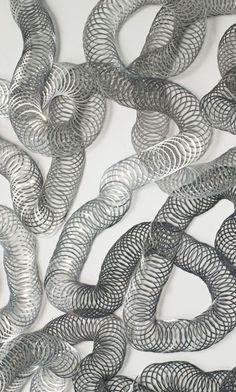 Untitled   -  2015   -   Tara Donovan   -   http://parrishart.org/exhibitions/platform-tara-donovan