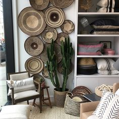Lots of goodies spotted at new discovery @changoandco Williamsburg, NYC. #changoandco #williamsburg #homestore #home #interiors #nyc #baskets