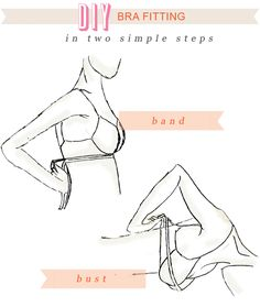 Bad Bra Alert!! How To Measure Yourself For The Perfect ...