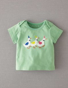 Party Animals T-shirt - Baby Boden