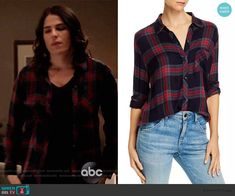 Laurel Castillo Fashion on How to Get Away with Murder Black Plaid Shirt, How To Get Away, My Outfit, Fashion Outfits, Tv, Closet, Style, Swag, Fashion Suits