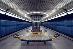 O metrô futurista de Munique