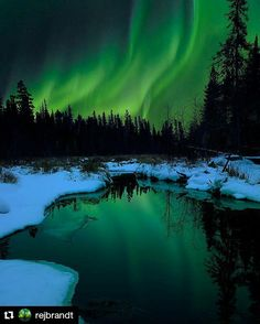 Auroras - Near The Pas, Manitoba