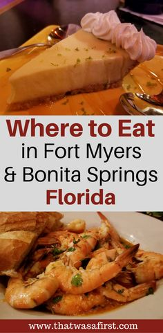 Planning a trip to Southwest Florida? Here is a guide to some can't miss restaurants that the whole family will love. #Florida
