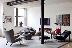 Art contemporain dans un loft à New York