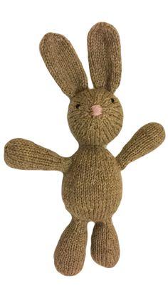 VirkotieBROWN Bunny Virkotie BROWN Quality 100% Wool Bunny HANDMADE IN AUSTRALIA @virkotie www.virkotie.com