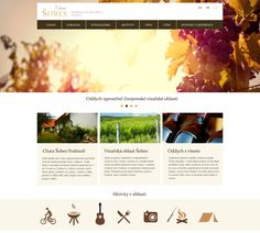 Webdesign simply and emotional - Location was a source of inspiration for webdesign cottage Šobes