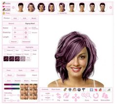 Virtual Hairstyles Fascinating Virtual Hairstyles  Hair Imaging  Makeover Software  Beauty