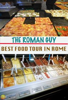 Best food tour in Rome Italy - A review of The Roman Guy Trastevere foodie tour. Pizza, gelato, pasta and more. Consider this a must do in Rome. #food #tour #Rome #foodietour #italy #theromanguy